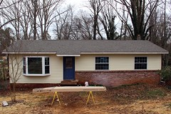 front of house w/siding & windows