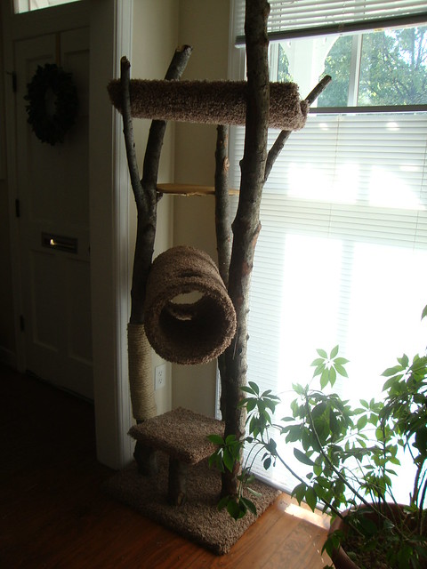 handmade cat tree comfortable adventures rustic cat tree 4664