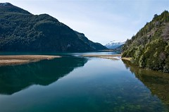 Lago Verde, Futalaufquen, Chubut, parque Nacional Los Alerces