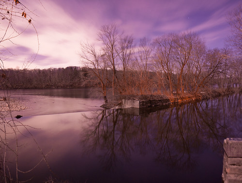 road park new trestle trees sky panorama reflection mill water night river canal colorful pennsylvania nj historic pa jersey delaware stockton outlet nighthawk raritan prallsville
