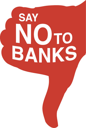 Say No To Banks logo