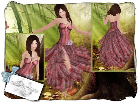 Gypsy roma dress, 19 lindens by Cherokeeh Asteria