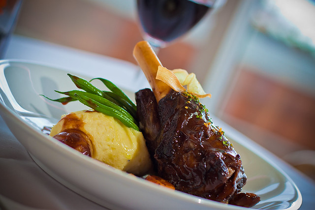 Dine Out 2012: Cafe Pacifica Restaurant - Braised Lamb Shank