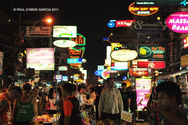 Khao San, Bangkok, Thailand