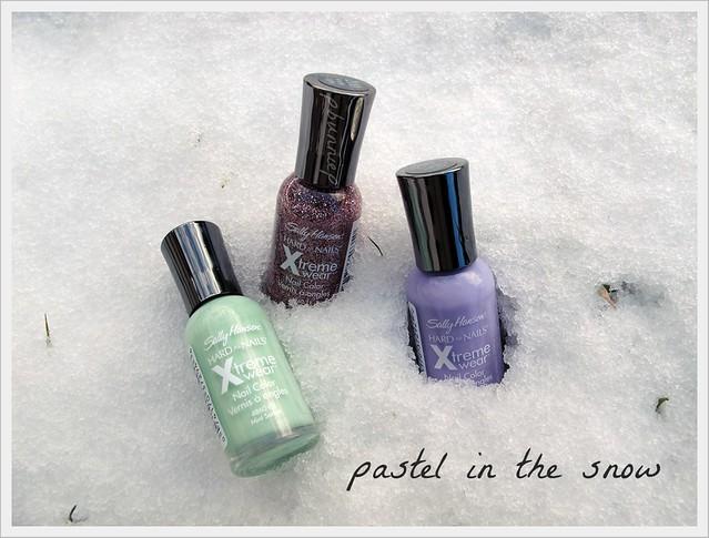 Sally Hansen Xtreme wear nail polish --pastels