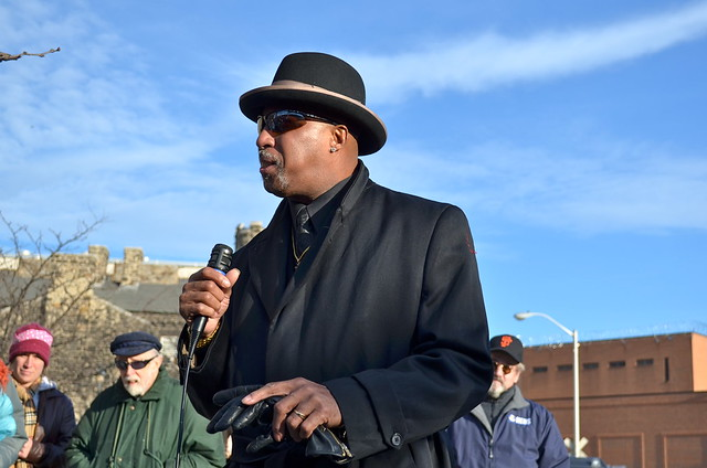 Schools Not Jails Rally, Doc Cheatham