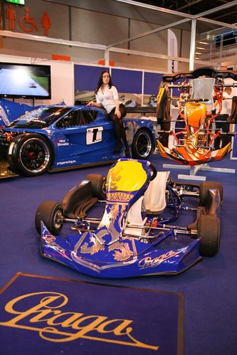 Praga Racing at the 2012 Autosport International Show