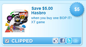 Bop It! Xt Game Coupon