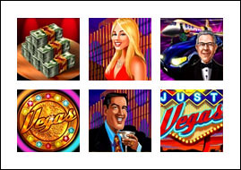 free Just Vegas Slots game symbols