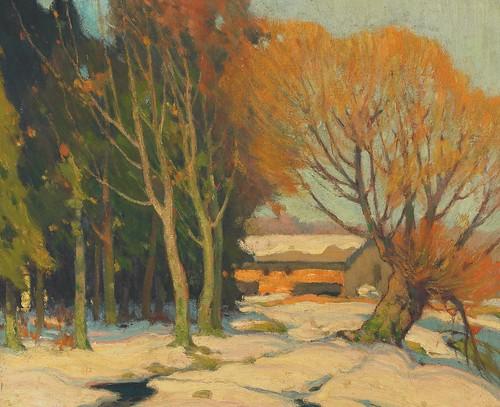 John William Beatty, Winter Landscape
