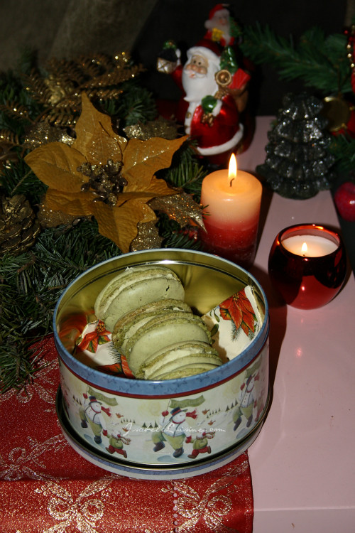 Green Tea Macaroons