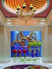 18th Century Italian Carvings - WLV Resort Room elevator lobby