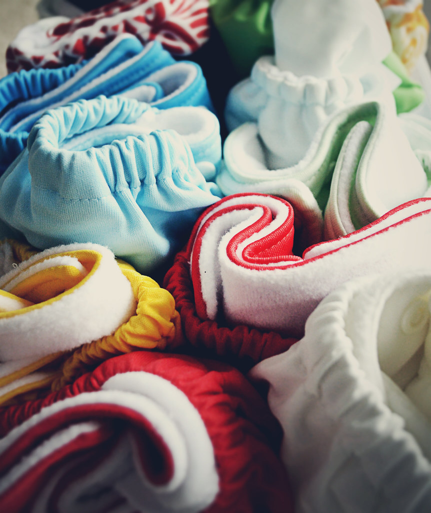 My cloth diaper stash