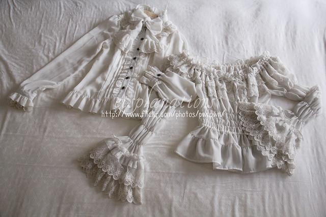 Dear Celine blouse; millefleurs blouse