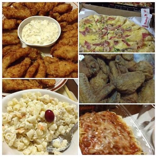 Sunday Dinner/CNY Celebration/Post Bday Celeb with my Family