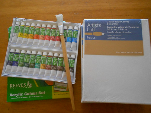 Acrylic Supplies for Project