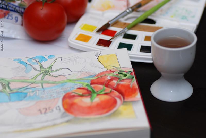"""My """"365"""" sketchbook today"""
