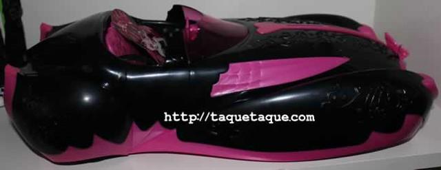 Mi colección Monster High - Colección Sweet 1600: el coche de Draculaura