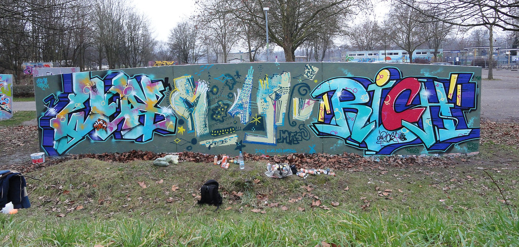 Graffiti am Gifiz - Hall Of Fame Offenburg