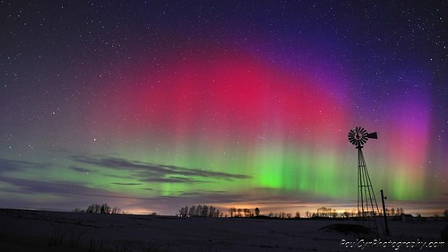 Northern Lights in Aroostook County Maine