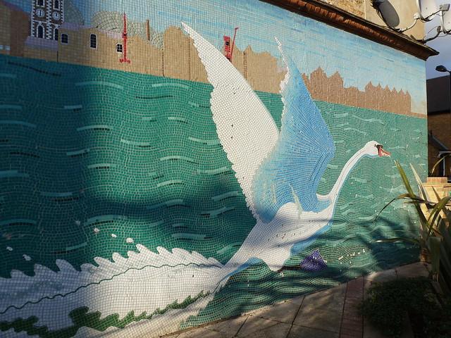 Swan Road Mosaic