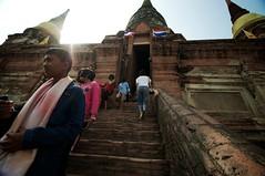 Visiting Phra Chedi Chaimongkol