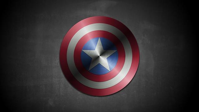 Scudo Captain America con Gimp