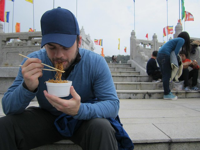 noodles at big buddha