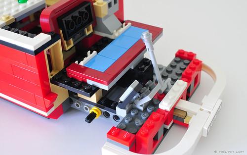 LEGO VW Camper Van - build pics