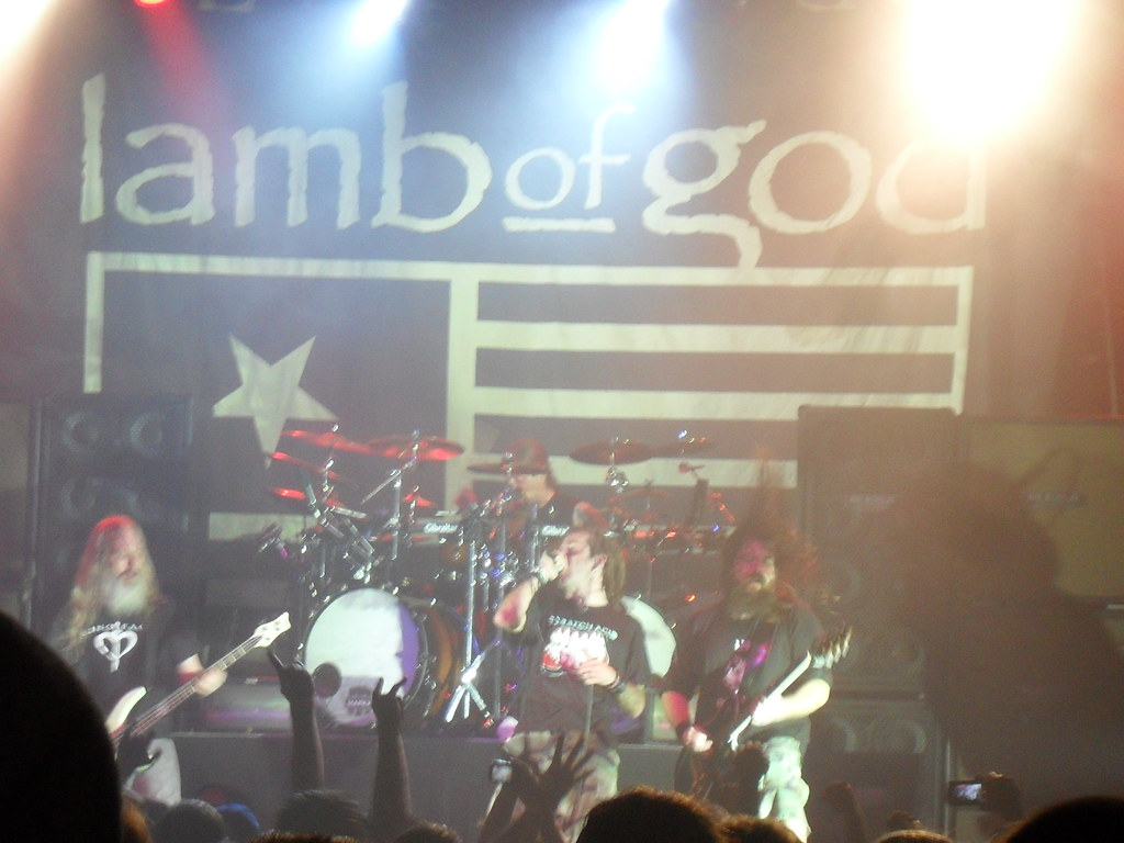 Lamb of God, at the Phoenix (Toronto), Jan. 27, 2012