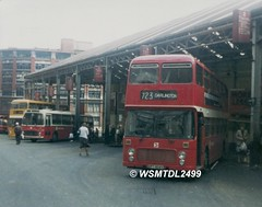 804  XPT 804V  Bristol VRT ECW. Worswick Street Bus Station NEWCASTLE UPON TYNE