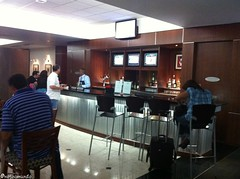 Sala VIP da Copa Airlines na Cidade do Panamá