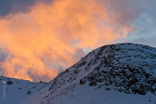 blue winter light sky orange sun snow mountains color weather clouds sunrise landscape iceland mood