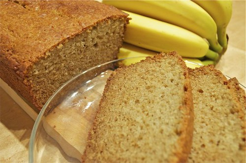 banana bread in a blender feature