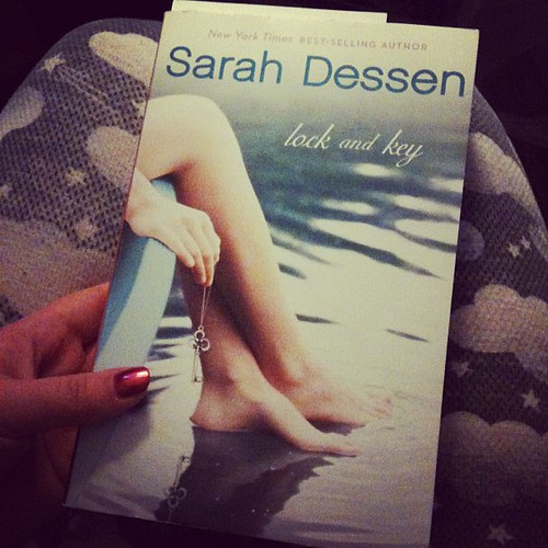 Starting book #8 before bed. I want to be Sarah Dessen's best friend.