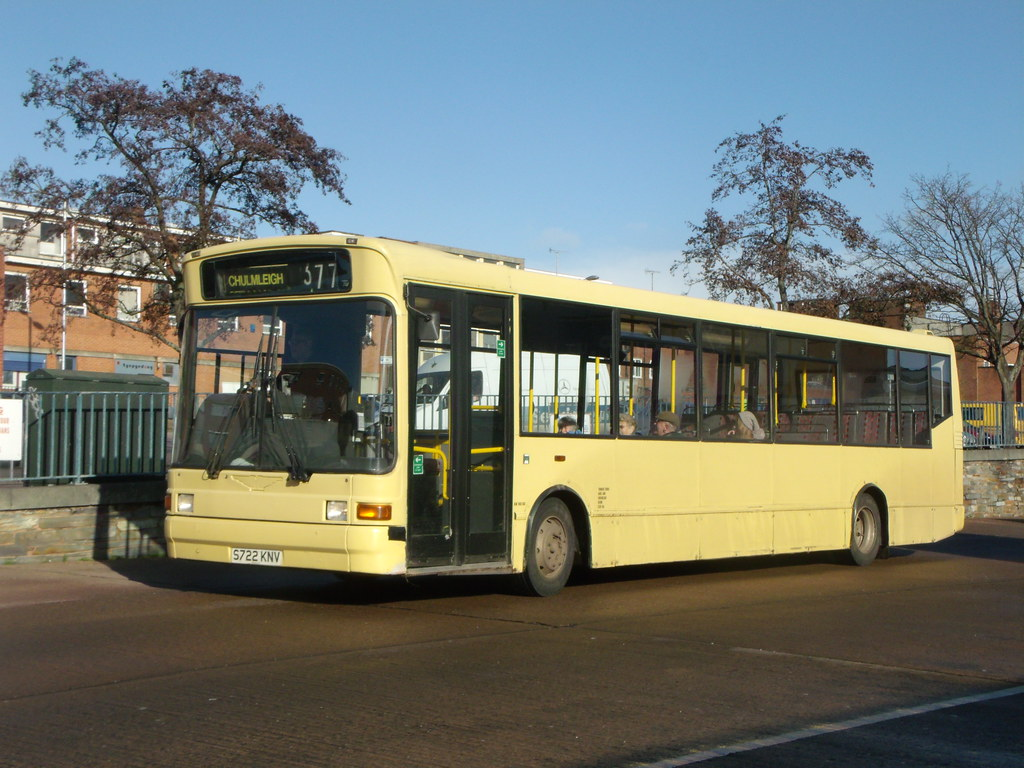 Turners Tours - S722KNV - Exeter - 26 January 2012