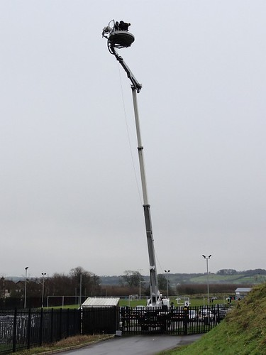 BBC camera at the Ballymena Showgrounds