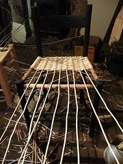 weaving the willow seat