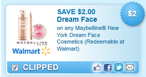 Maybelline New York Dream Face Coupon