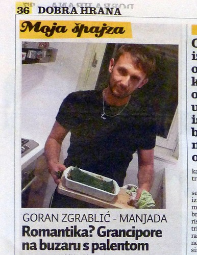 Manjada in Dobra Hrana, food & wine supplement of Jutarnji List