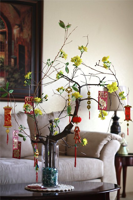 Lunar new year decoration