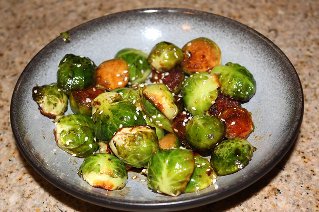 Soy & Sriracha Brussels Sprouts