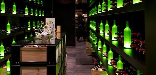 Vinný sklep v hoteli Walserhof, Klosters