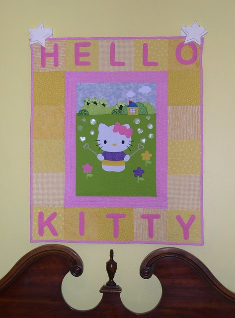 Hello Kitty Wallhanging