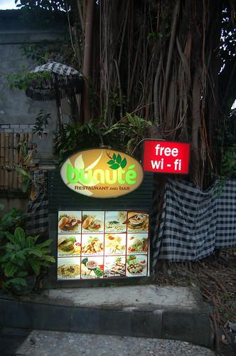 Bunute resturant, Ubud, Bali, Indonesia