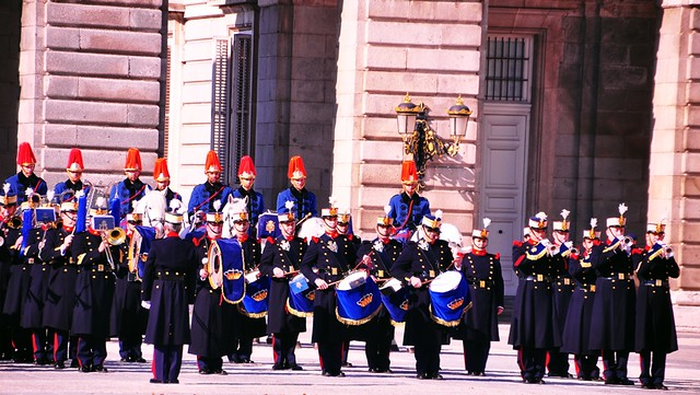 Royal Palace, Madrid (Changing of the Guard)
