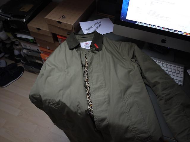 de87d0fd50ea Supreme Leopard lined trench coat. Olive. Medium. Worn 3 times. €250.  6812016439_455955cdd2_z.jpg