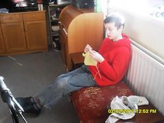 callum knitting
