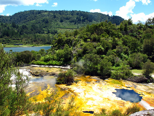 Orakei Korako New Zealand