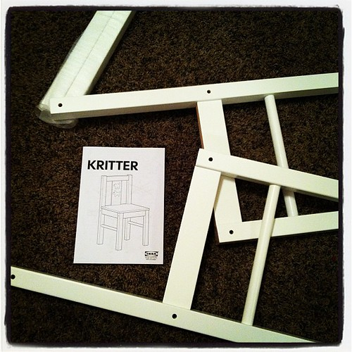 #operationplayroom Ikea building time.